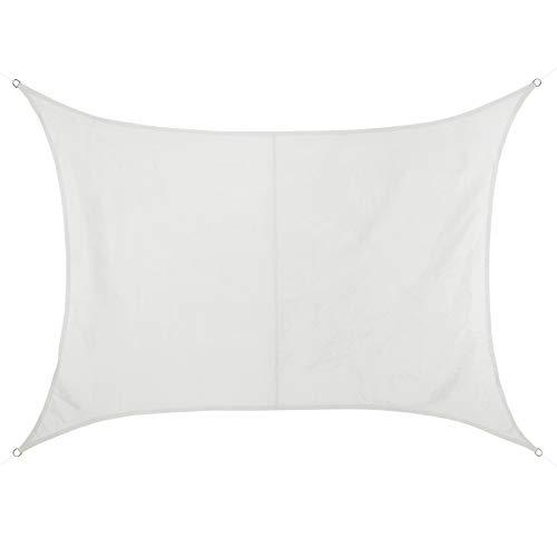 BB Sport Toldo Vela 2m x 2.5m Coco Rectangular 100% poliéster [PES] Vela Sombra Protección UV 30+ Balcon Jardin Terazza
