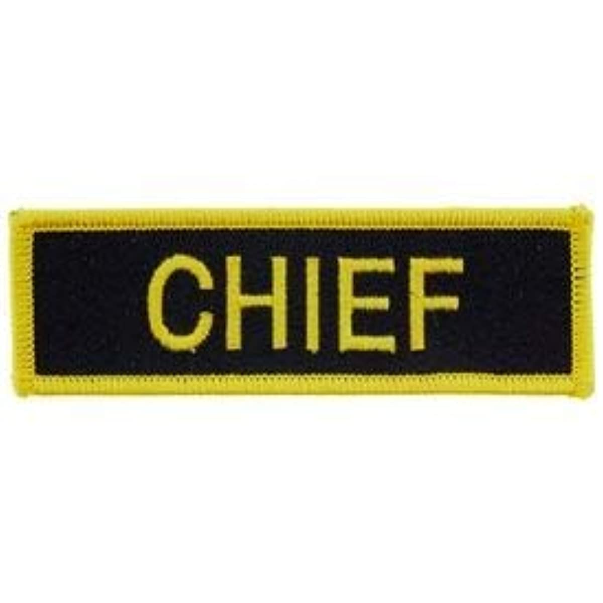 Chief - Patriotic Patches, Premium Quality Embroidered Iron On Patch - 1.25