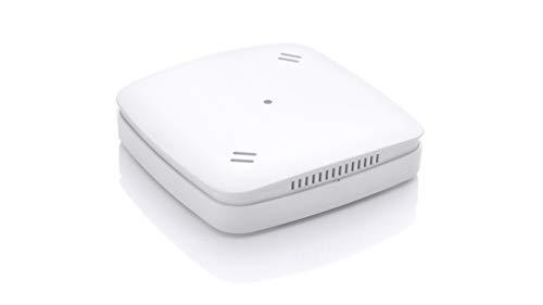 Eurotronic 700088 Z-Wave Plus, Calidad óptima, Sensor de Aire con recomendación de ventilación, valores CO2 y Temperatura/Humedad, Accesorios para el hogar Inteligente, Blanco, Einzelartikel
