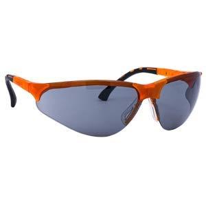 Gafas de protección con patillas ajustables - Lentes grises