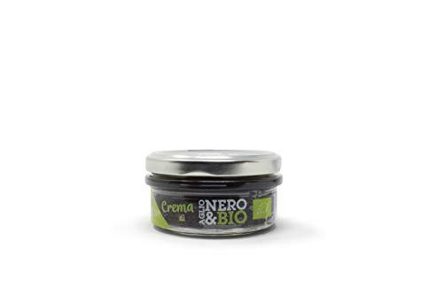 NERO FERMENTO NB Bio-Aufstrich aus schwarzem Knoblauch von Voghiera D.O.P. 70 gr, Made in Italy, reich an Antioxidantien und ohne Konservierungsstoffe, ausgezeichnet auf Croutons oder mit Nudeln