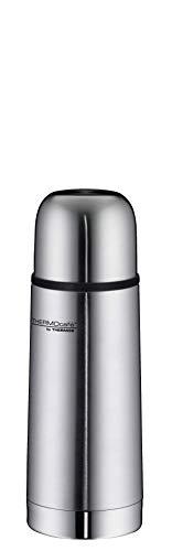 ThermoCafé by THERMOS 4058.205.035 Thermosflasche Everyday, Edelstahl mattiert 0,35 l, Drehverschluss mit Trinkbecher, BPA-Free