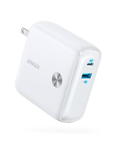 Anker PowerCore Fusion 10000 (9700mAh 20W PD モバイルバッテリー搭載USB充電器) 【コンセント一体型/折...
