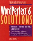 Word Perfect 6 Solutions