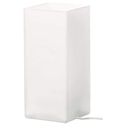 IKEA Tischleuchte GRÖNÖ Milchglas weiß A++