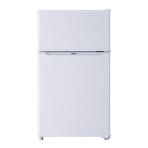 ハイアール 85L 2ドア冷蔵庫(直冷式)ホワイト【右開き】Haier JR-N85C-W