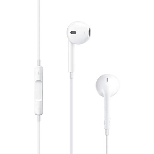 Gli auricolari degli EarPod sono stati progettati per massimizzare l'uscita del suono e ridurre al minimo la perdita di suono Comandi per rispondere alle chiamate e concluderle Controlli la riproduzione di musica e video Maggiore protezione contro su...