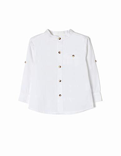 ZIPPY ZTB14_409_28 Camisa, Blanco (White 1178), (Tamaño del Fabricante:24/36M) para Bebés