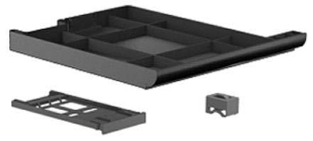 HP 651376–001Notebook-Ersatzteil–Komponente für Laptop (Abdeckung, EliteBook 2570p) schwarz