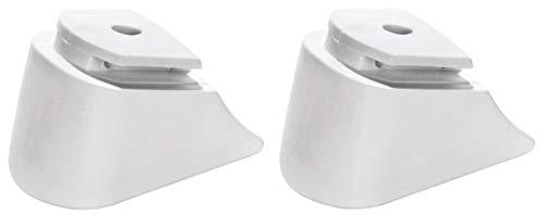 RAVEN Inliner-Bremse Bremsstopper Bremsklotz aus TPR für Inlineskates Profession (White)