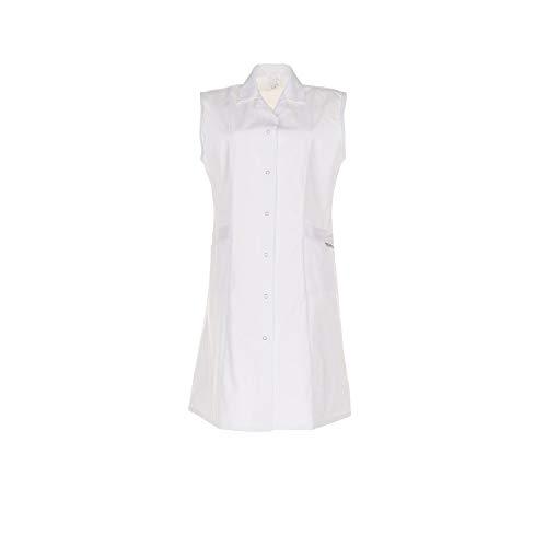 Planam Damen Mantel Mischgewebe ohne Arm Größe 44, reinweiß, 1622044