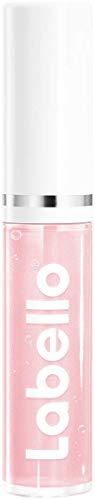 Labello Pflegender Lip Gloss Transparent (5,5 ml) für natürlich glänzende Lippen, feuchtigkeitsspendendes Lippenöl ohne Mineralöle, Lippenpflege mit natürlichen Ölen