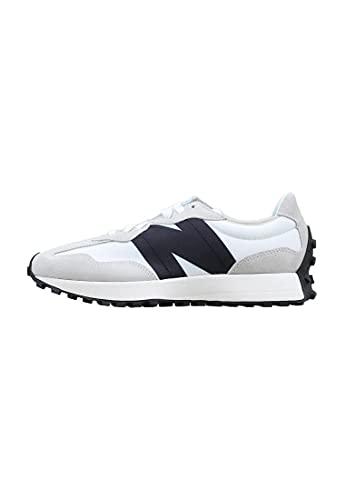 Zapatilla Hombre New Balance MS 327 FE Color White Grey Black Talla 45