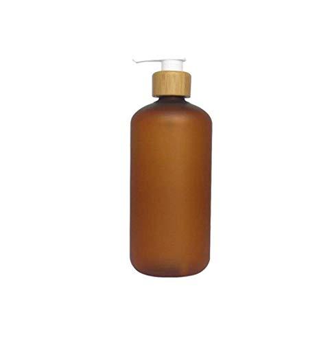 Upstore - Bomba de presión de plástico para baño y ducha, color marrón, 1 unidad, plástico, marrón, 250ml/8oz