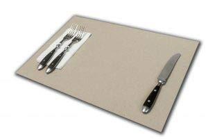 Tovaglietta Americana Economica | Confezioni da 500 Fogli | USA e Getta di Carta Colore Grigio | Formato cm 30x40 120 gr.mq. | Ideali per pizzerie e osterie