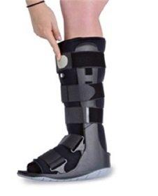 Ovation Air Cam Walker Walking Boot (Medium, Grey Sole)