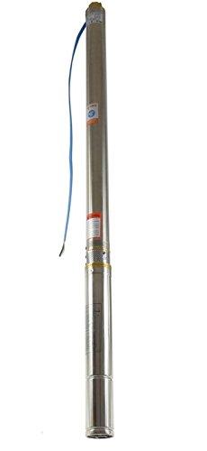 """Sandverträgliche Tiefbrunnenpumpe 2,5\"""" DN 66 mm 2700l/h 230V 550 W Brunnenpumpe Tauchpumpe"""