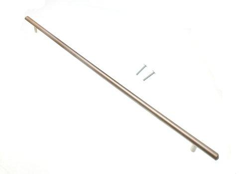 200 de porte de placard Tirez T Bar poignée chrome mat 356mm avec des vis