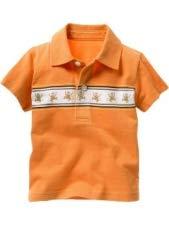 Camiseta bebé color caldera (9-12 meses)