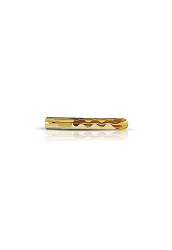 Oehlbach Banana Tube - Tube-Verbinder/Stecker für Lautsprecherkabel bis 4mm² - vergoldet - 10 Stück - Gold