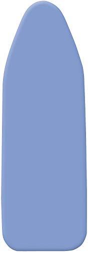 WENKO Bügeltischbezug Universal Stretch - Bügelbrettbezug, Universalgröße für S bis XXL, 4 mm Komfortpolsterung, Baumwolle, 30-48 x 110-130 cm, Blau