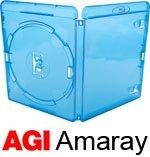 AMARAY Blu-ray-Hüllen (14mm), 25er-Pack