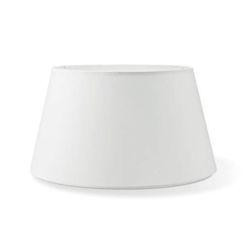 Lampenschirme rechteckig | Largo | Textil Lampenschirme | Lampenschirme konisch | E27 Fassung | Lengte 35cm Breedte 30cm Höhe 19cm | DunkelGrau | geeignet für alle Innenraumen IP20 | Ohne Leuchtmittel