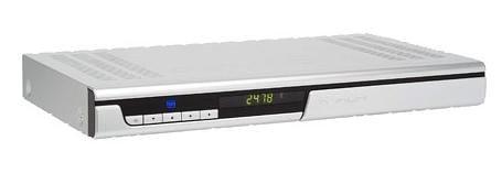 Medion MD 24900 Satelliten Receiver mit 160 GB Festplatte Silber