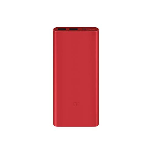 Mi 10000mAH Li-Polymer Power Bank 2i (Red)