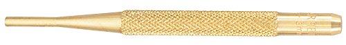 Starrett B565C Brass Drive Pin Punch, 4' Overall Length, 5/8' Pin Length, 1/8' Pin Diameter