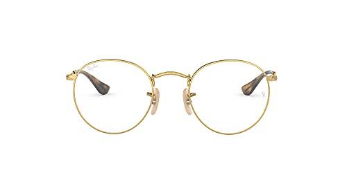 montatura occhiali da vista uomo rayban Ray-Ban Round Metal 3447V