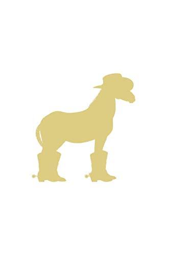 Line Dance Notizbuch: Line Dance Cowboy Pferd Hut Stiefel als Geschenkidee als Planer Tagebuch Notizheft oder Notizblock 6x9 DIN A5 120 Seiten | Liniert