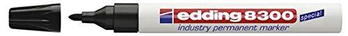 Edding Permanentmarker 8300 industry, 1,5-3 mm, schwarz