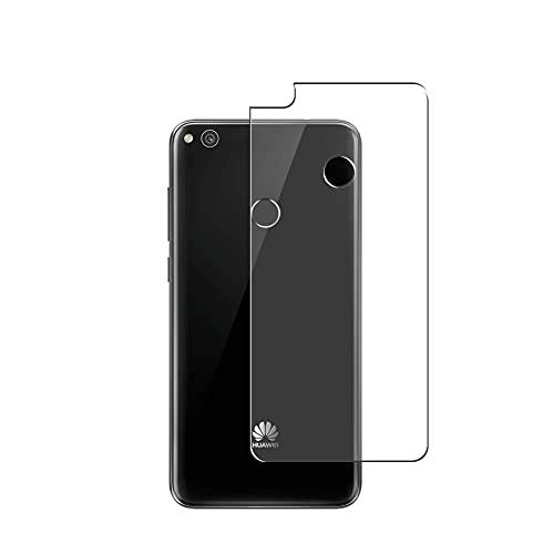 Vaxson 2 Unidades Protector de pantalla Posterior, compatible con HUAWEI P8 Lite 2017/P9 Lite 2017/NOVA LITE/Honor 8 lite [No Vidrio Templado] TPU Película Protectora Espalda Skin Cover