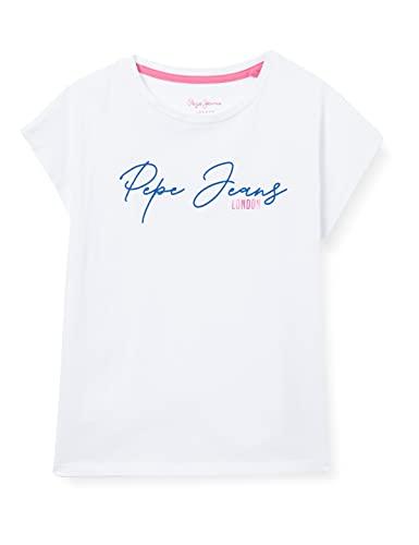 Pepe Jeans Nina Camiseta, 802optic White, 4 para Niñas