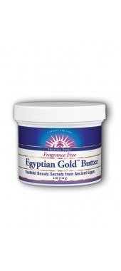 Egyptian Gold Butter Fragrance Free Heritage Store 4 oz Cream by Heritage