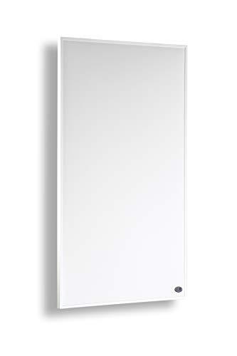 Könighaus Infrarot Heizung 450 Watt mit TÜV + 10 Jahre Garantie ✓Infrarotheizung für 6-12m² (450W + Thermostat) - Elektroheizung mit Überhitzungsschutz