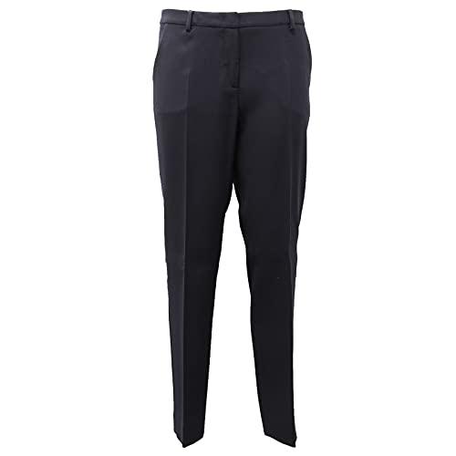 MaxMara 0486AF Pantalone Donna Weekend Blue Trouser Woman [44]