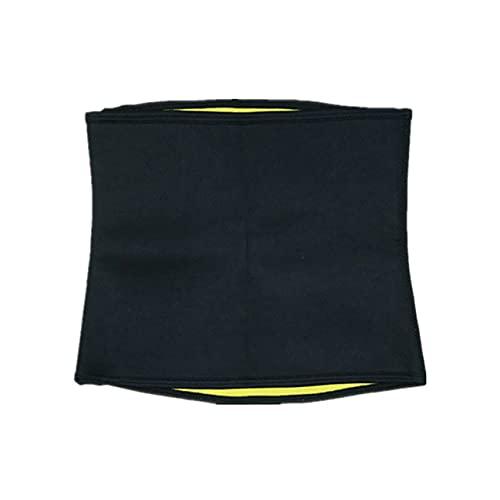 NewIncorrupt Ejercicio de Culturismo Yoga Fiebre Sudor Banda Abdominal Culturismo Cinturón Deportivo elástico Duradero Cinturón Moldeador Corporal