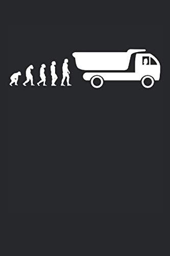 Chauffeur de camion Evolution: Cahier ligné 6