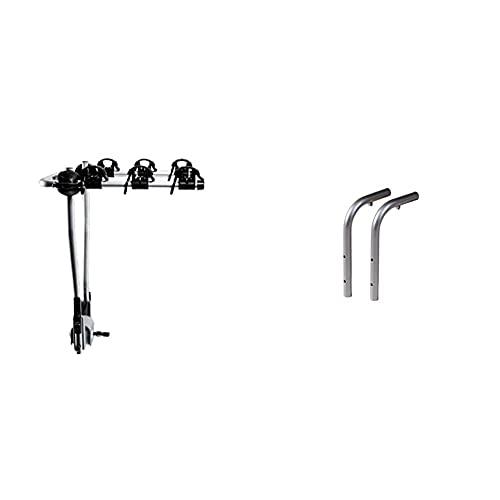 Thule Hangon 3 Tilt, Portabicicletas Basculante Básico Y De Fácil Manejo (para 3 Bicicletas). + Th9761 9761 Adaptador para 976