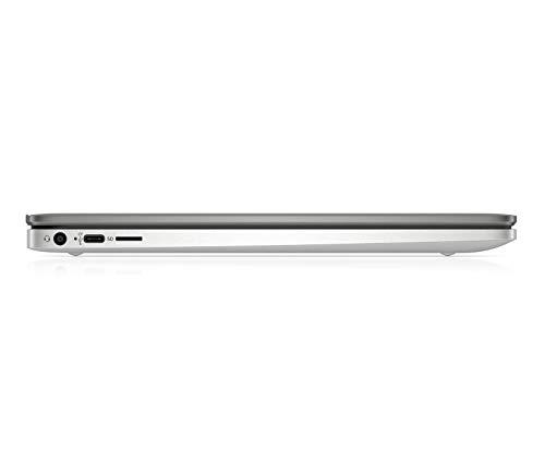 HP Chromebook 14a-na0290ng (14 Zoll / Full HD IPS) Laptop (Intel Pentium Silver N5030, 128 GB eMMC, 8 GB DDR4 RAM, Intel UHD Grafik, Chrome OS) Silber