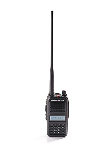 DYNASCAN DB-59 Walkie-Talkie radioaficionado Doble Banda (VHF-UHF)