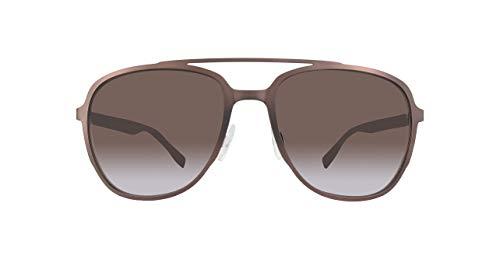 BOSS ORANGE BO0301S-BU0HA-56 Boss Orange Sonnenbrille BO0301S-BU0HA-56 Aviator Sonnenbrille 56, Braun
