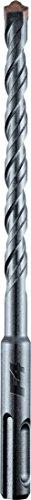 alpen 91301600100 - Punta per trapano a percussione SDS Plus, F4 forte, doppio taglio, diametro: 16 mm, lunghezza: 800 x 740 mm