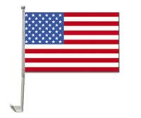 Unbekannt - Auto-Fahne: USA