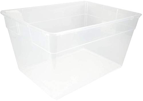 Sterilite 56 Quart Clear Plastic Storage Container Box and Latching Lid, 40 Pack