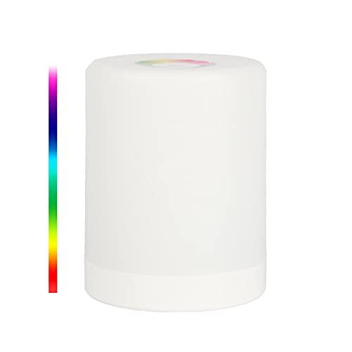 Lámpara de escritorio ajustable con puerto de carga USB, luz de mesa de control táctil sensible con 3 niveles de brillo, luz que cuida los ojos para trabajar en el estudio