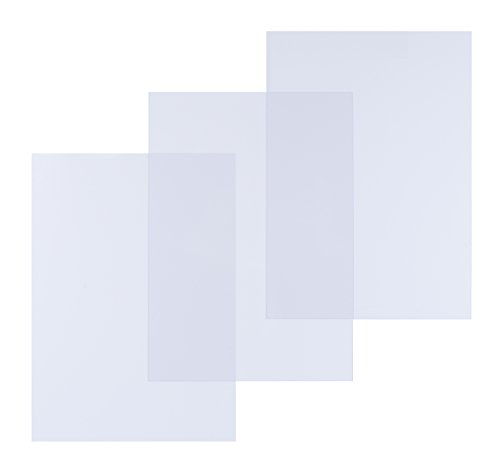 Pavo Einbanddeckel-Klarsichtfolie A4, PVC-Folie, 0.25 mm, 100-er Pack, transparent
