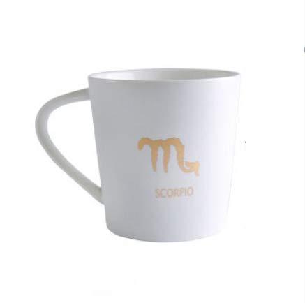 qnmbdgm grote capaticy 12 sterrenbeelden keramische mok super procelain liefhebbers koffie melk kopje witte kleur